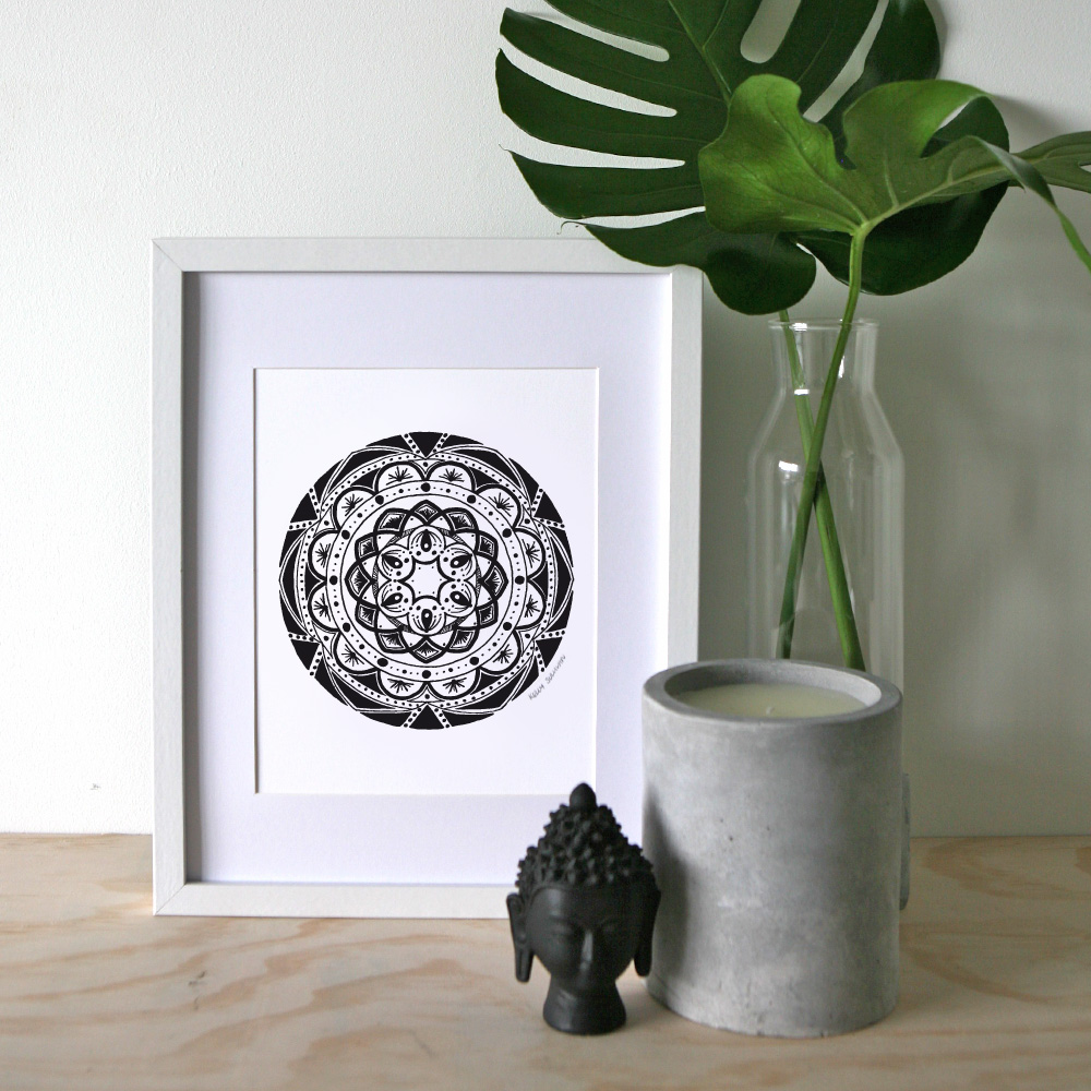 Friendship Mandala – A4 Print