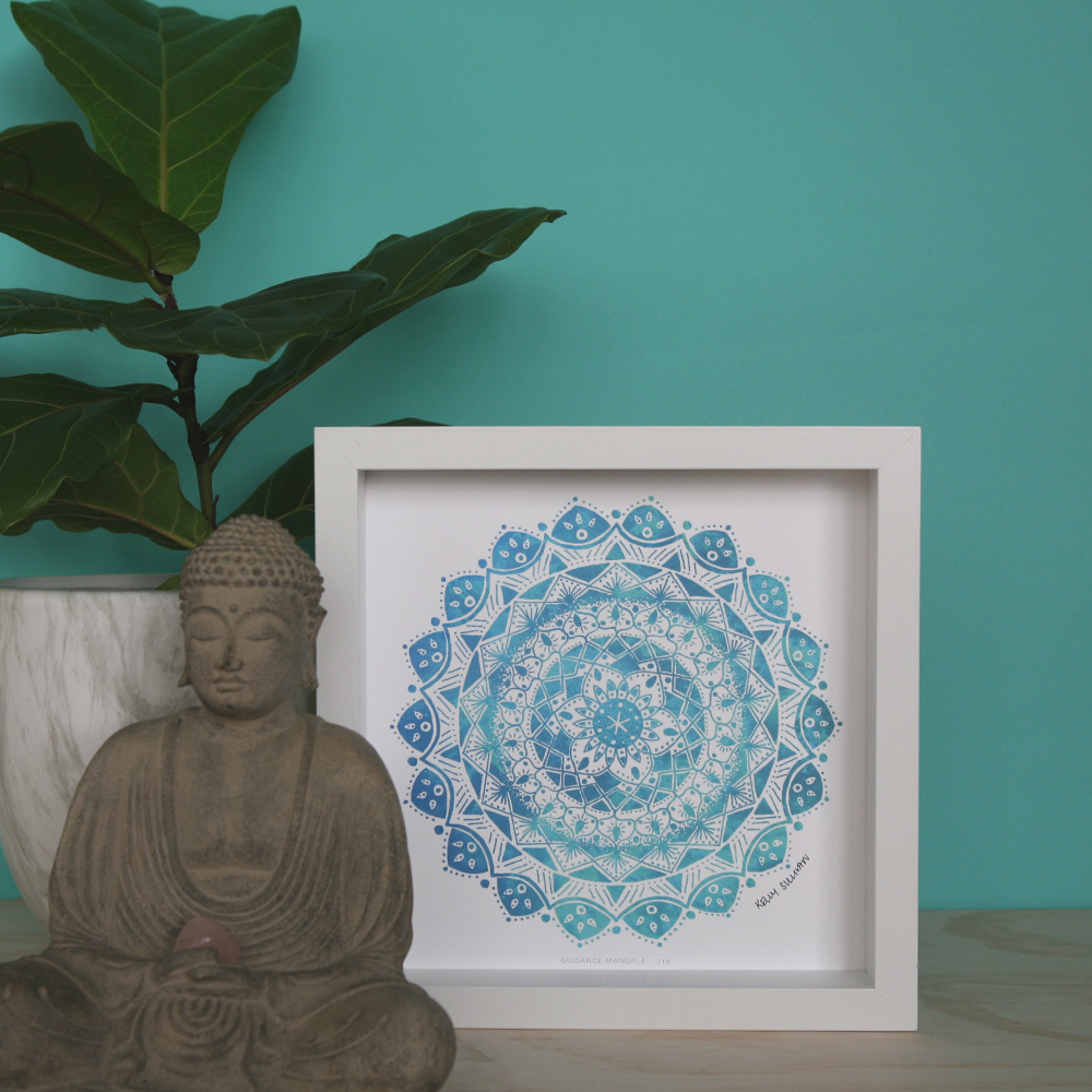 Guidance Mandala – Aqua – Limited Edition