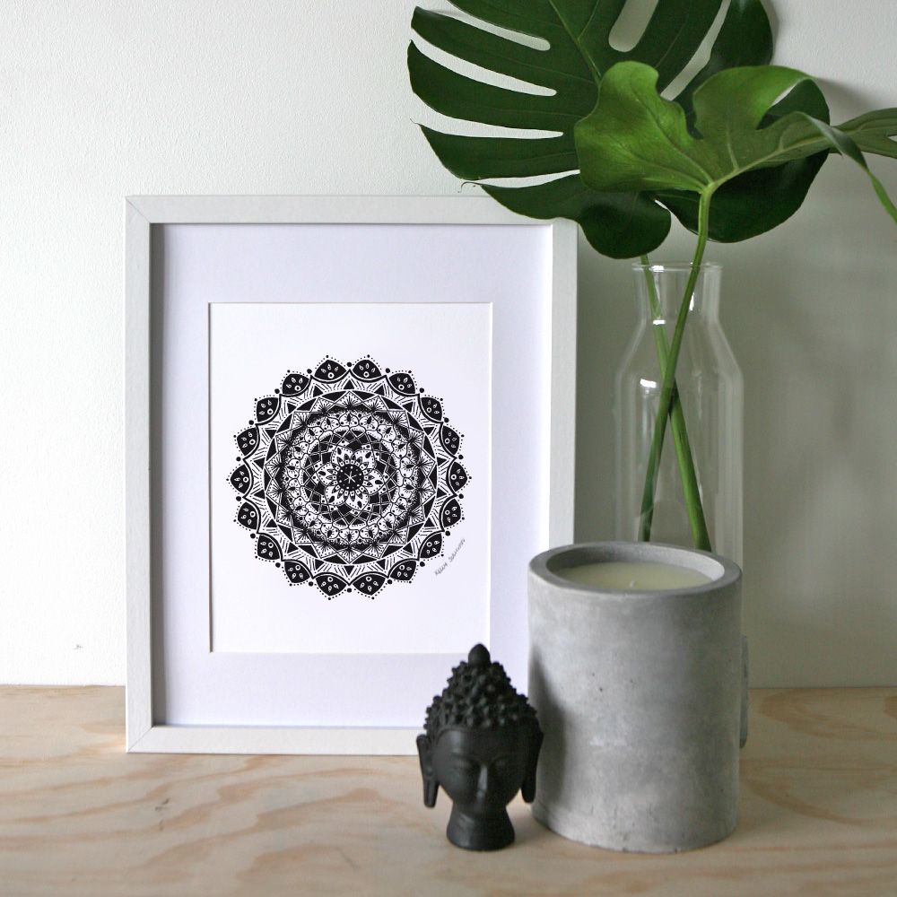 Guidance Mandala – A4 Print