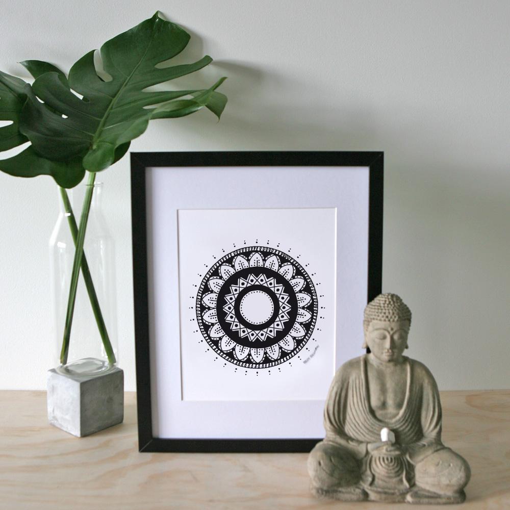 Inspiration Mandala – A4 Print