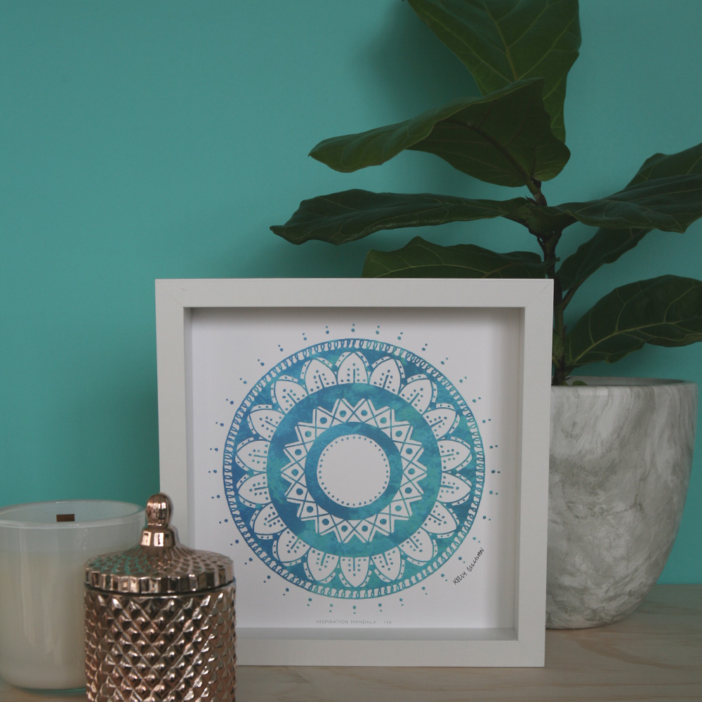 Inspiration Mandala – Aqua – Limited Edition