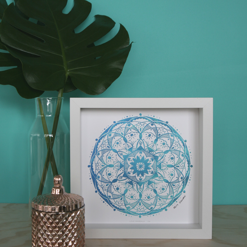 Love Mandala – Aqua – Limited Edition